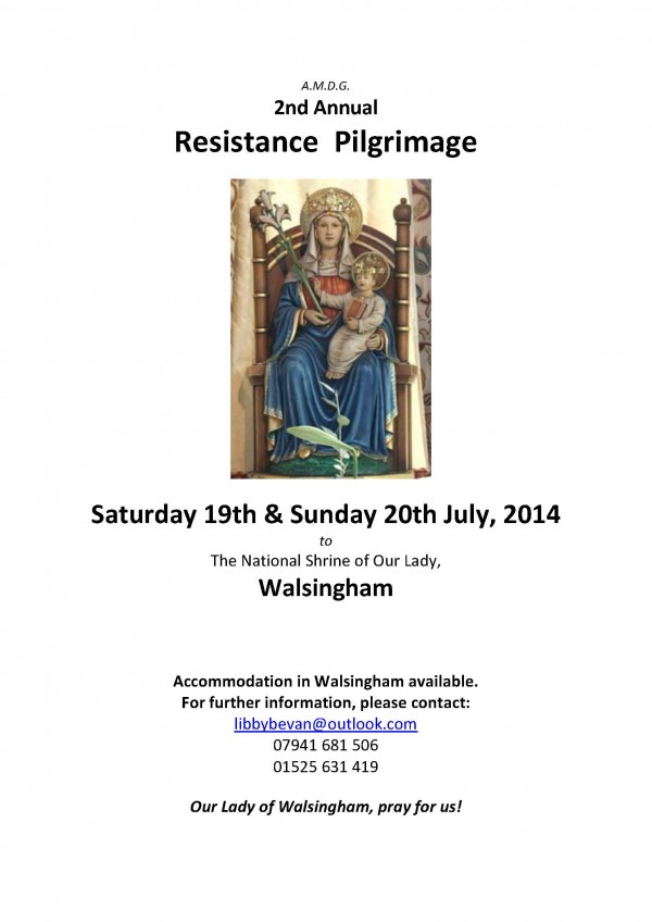 Walsingham Poster