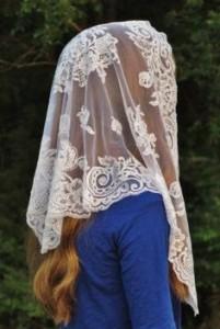 veil-red hair