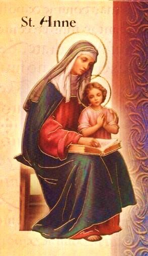 Saint anne biography