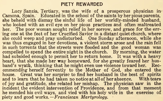 Piety Awarded - April 1916