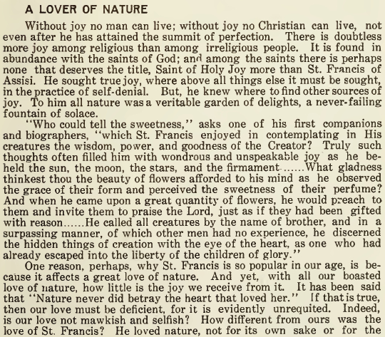 Lover of Nature - October 1917