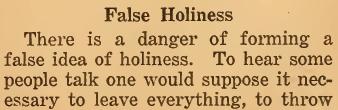 False Holiness 01