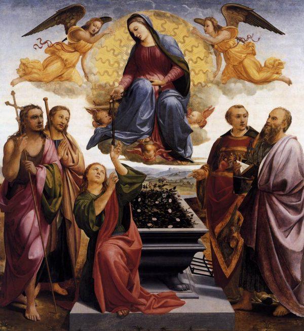 Assumption of the Blessed Virgin Mary - Francesco_granacci,_assunta