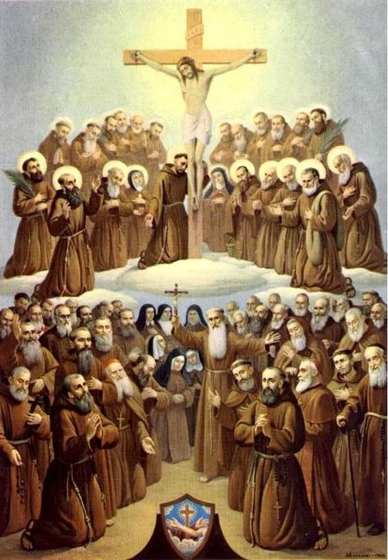 all-saints-of-the-seraphic-order